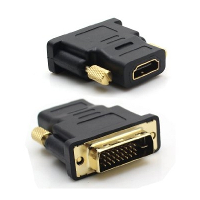 Verloop DVI-D 24+1 male - HDMI 19p female